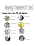 Money Placement Test