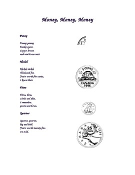 Money Poem (Canadian)