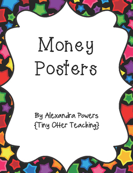 Multicolored Star Background Money Posters/Printables