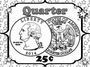 Money Posters - Quarter, Dime, Nickel and Penny - Superstars Theme