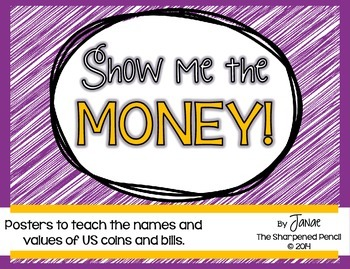 Money Posters - U.S. Coins and Bills