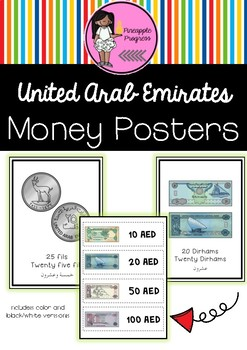 Money Posters in Arabic and English