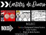 Money Posters in Spanish / Carteles de Dinero