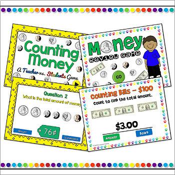 Money Powerpoint Game Bundle