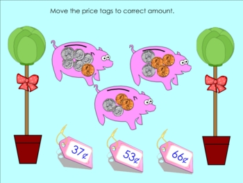 Money Practice Counting Coins Smartboard Lesson