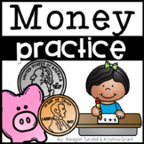 Money Practice Pages First Grade