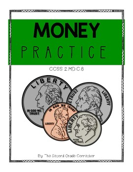 Money Practice Pages