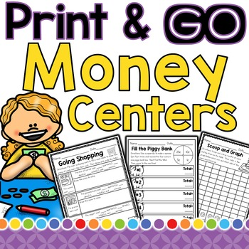 Money (Print and Go! Centers)
