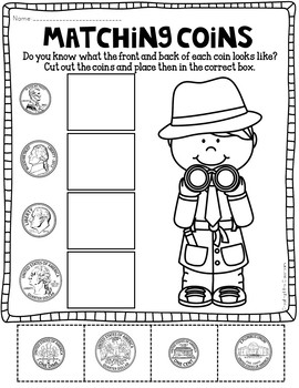 Money Printables {Money Worksheets}