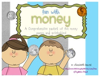 Money Printables and Games: Fun With Money Packet