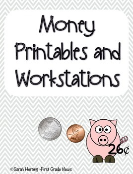 Money Printables and Workstation