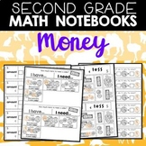 Math Notebooks: Second Grade Money