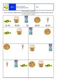 Money Problems using decimals - SIMPLE
