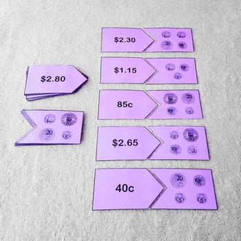 Money Puzzle - Australian Currency Math Activity