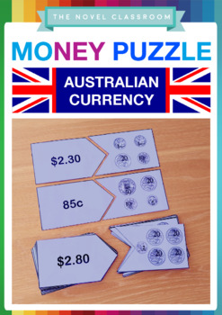 Money Puzzle - Australian Currency Math Activity