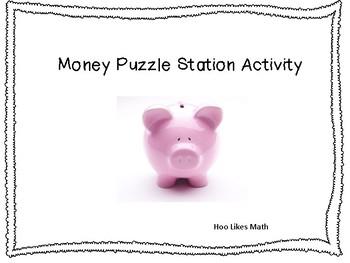 Money Puzzle Cards
