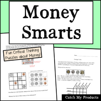 Money Worksheets, Games, and Puzzles to Engage Gifted and