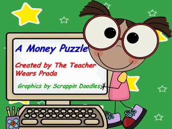 Money Puzzle with Recording Sheet