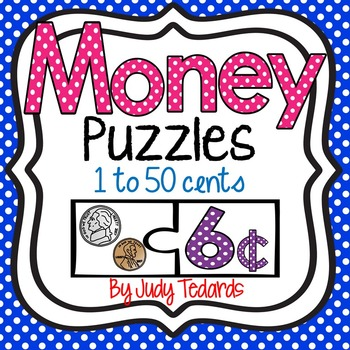 Money Puzzles (1 to 50 cents)