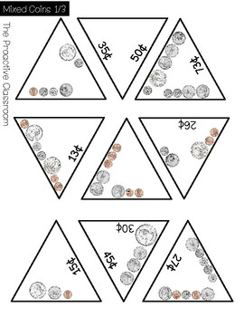 Money Puzzles Counting Like and Mixed Coins