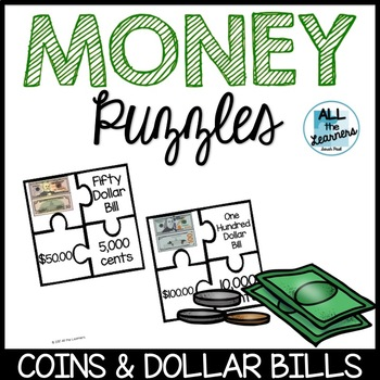 Money Puzzles Math Game