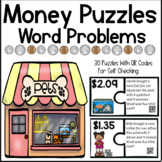 Money Puzzles - Solving Money Word Problems Using Dollar Signs