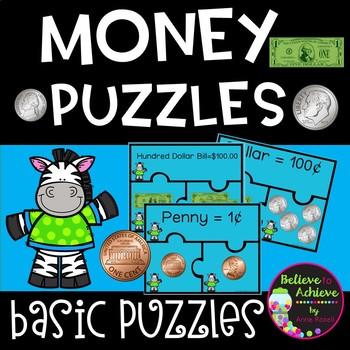 Money Puzzles (U.S. Money)