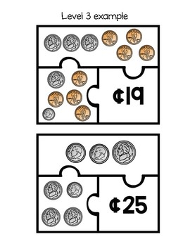 Money Puzzles (differentiated levels!)