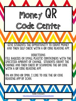 Money QR Code Center