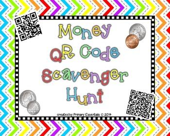 Money QR Code Scavenger Hunt