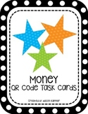 Money QR Code Task Cards
