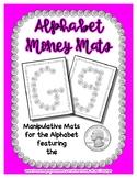 Money - Quarter -  Manipulative Mats Upper & Lower Case Le