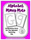 Money - Quarter -  Manipulative Mats Upper & Lower Case Le