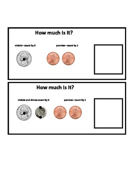 Money Question Boxes for Autism