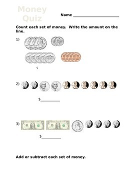 Money Quiz