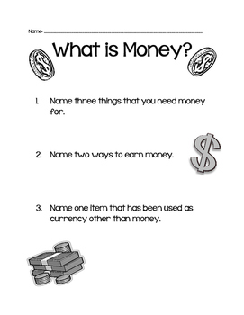 Money Quiz Economics