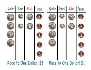Money Race Game using Coins & Dice