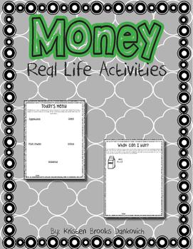 Money Real Life Activities