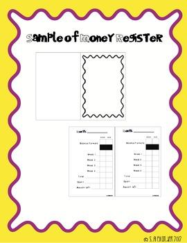 Money Register - Wallet