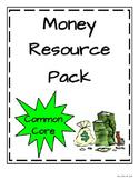 Money Resource Pack * Math in Focus aligned