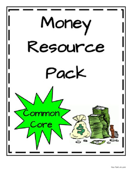 Money Resource Pack * Math in Focus aligned
