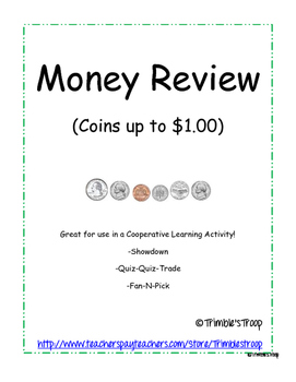 Money Review (Coins up to $1.00)