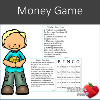 Money Review Game