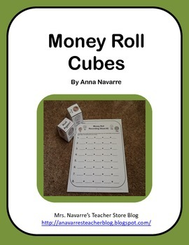 Money Roll Cubes