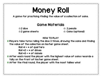 Money Roll Game