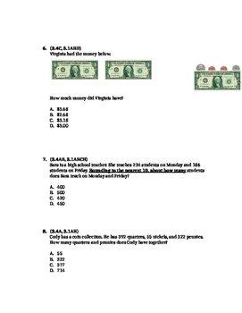 Money, Rounding, and Adding Assessment