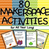 Money Saving Bundle! 80 Makerspace STEM STEAM Challenges for every season!