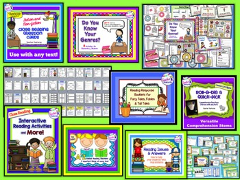 Reading Strategies & Comprehension Toolkit (Grades 2-4)