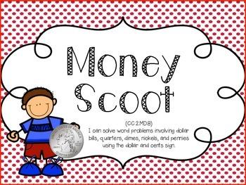 Money Scoot, 2nd Grade CCSS