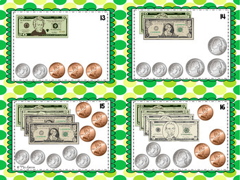 Money Scoot Bills and Coins